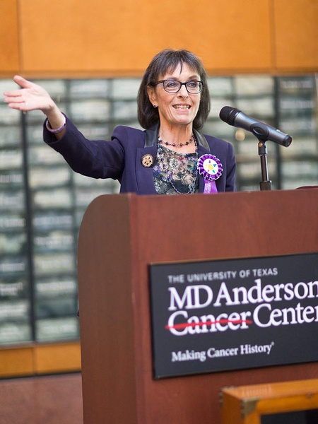 Dr. Eugenie Kleinerman recaps major milestones of the Children's ...