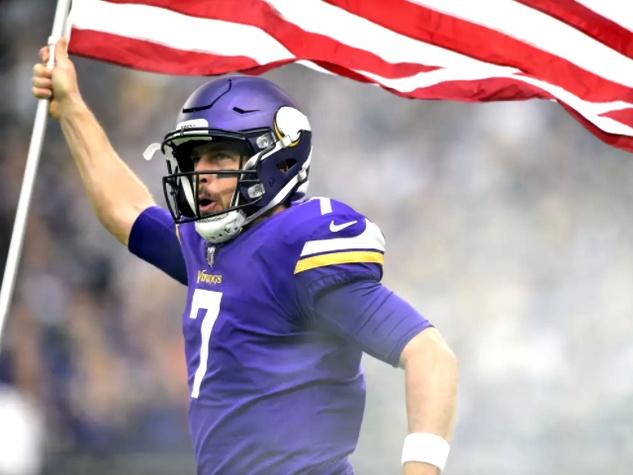 Case Keenum Minnesota Vikings QB quarterback