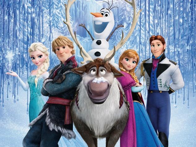 Disney Frozen animated movie