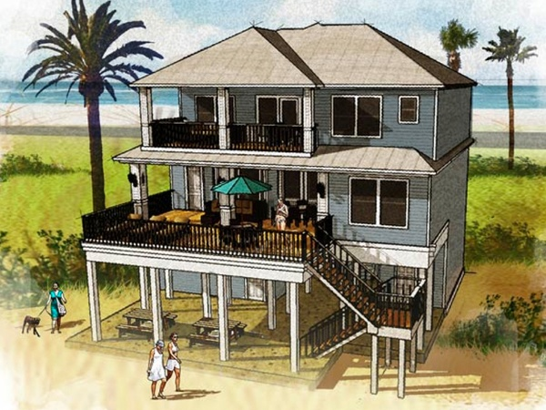 Move over wildlife new luxury beach community to spring for Beach house plans galveston