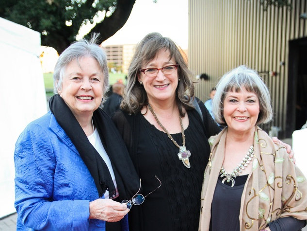 24 Kathrine McGovern, from left, Ann Shaw and Susan Young at the Miller Outdoor Theatre Gala October 2013