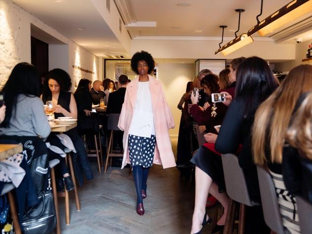 Lela Rose fall 2017 collection at New York Fashion Week