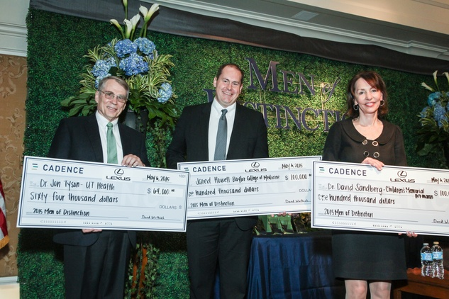 News, Shelby, Men of Distinction luncheon, May 2015, Dr. Jon Tyson, Jared Howell, Susie Distefano