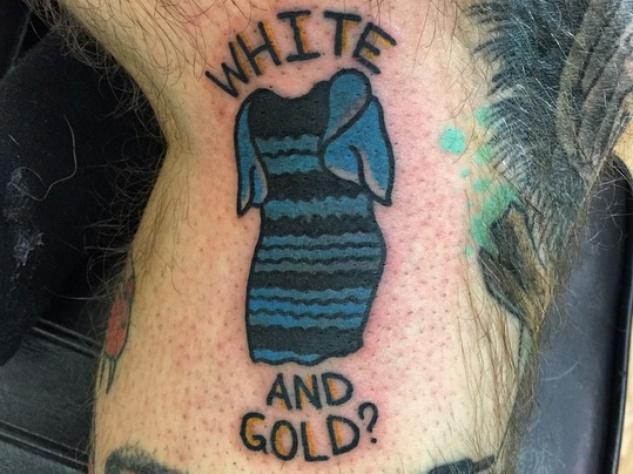 The Dress_#TheDress_Daniel Howland_tattoo
