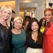 8 Jennifer Simmons, from left, Sydney Dao, Chloe Dao and Andrea Bonner at Mandy Kao and Nihala Zakaria birthday party October 2014