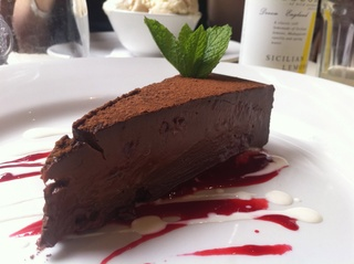 Chocolate Truffle Cake at The West End