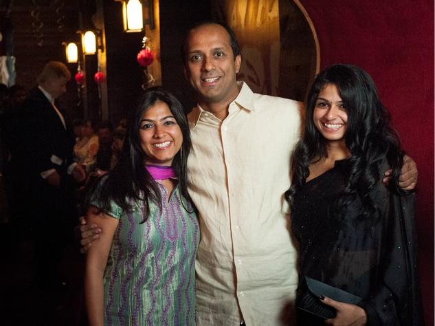 Divya, Krishna and Sangeetha at Bollywood Ball