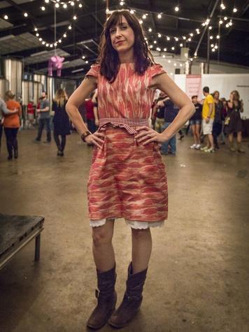 Kristen DeRocha at Meat Fight 2013