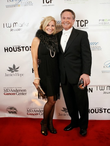 9 Cindy Dickerson and Bob Allen at Hope Masquerade for a Cure Gala November 2013