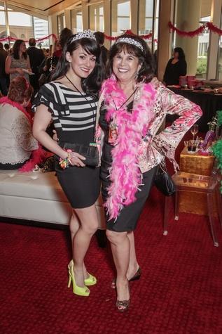 Caroline Millington, Grace Pendland at Sweet Potato Queens party