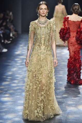 Marchesa fall 2016 runway show look 24