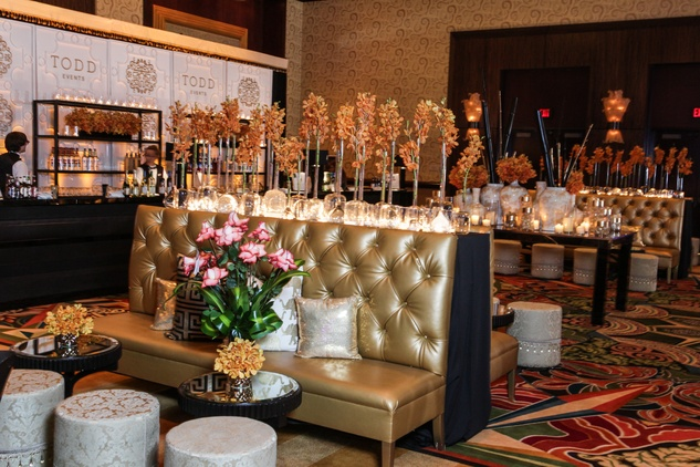 The Social Book Launch Party January 2015 Decor by Todd Events