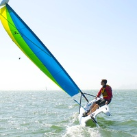 sailboat hobie boat