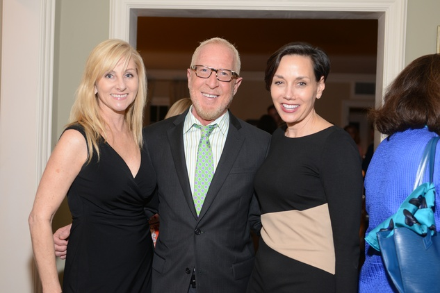 16 Teri Pugh, from left, Rusty Arena and Janus Lazais at the Houston Design Center Spring Market pre-party at Lauren Rottet's home April 2014