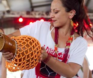 Pachanga Fest 2014 at Fiesta Gardens Maracatu Austin