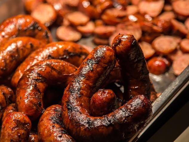Sausage at Pecan Lodge