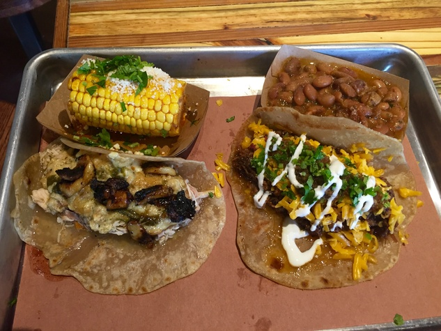 The Pit Room tacos