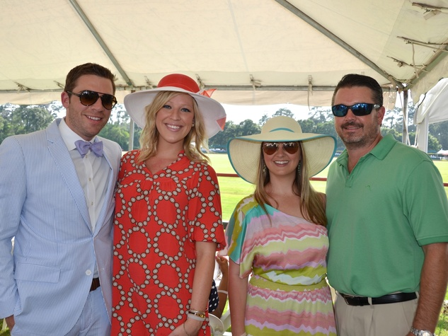 7 Houston Health Museum Young Professionals polo May 2013 Neil Krugh, Whitney Holt, Trish Weir, Brian Huddleston