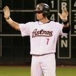 Craig Biggio hands up