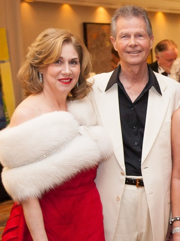 46. Denise and Philip Bahr at the Stehlin Foundation Gala October 2013