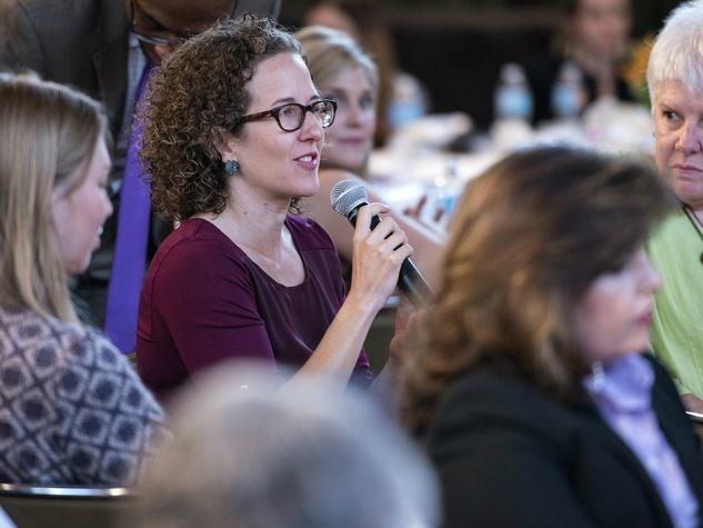 Women in Leadership luncheon LBJ Future Forum May 2016 Addie Broyles