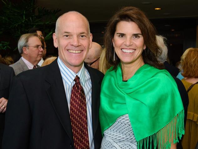 Don and Lisa Malosky at The Council fall luncheon November 2013