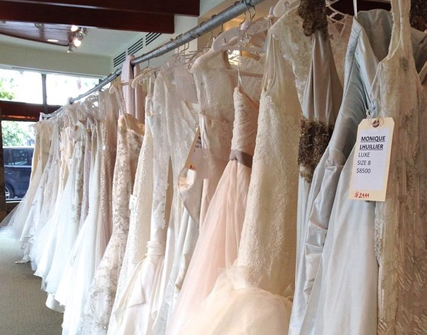 Bridal gown sample sale Aug 2014