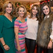 23 Vanessa Sendukas, from left, Cheryl Gallagher, Kari Parsons and Alyssa Parsons at The Nutcracker Market preview party November 2014