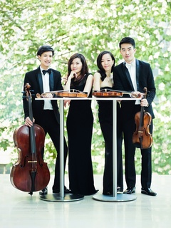 "Aperio, Music of the Americas presents the Nyx Quartet in ""American Dreams - String Quartets by Dvořák and Schickele"""