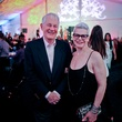Bill Joor and Kath Blanco at the FotoFest opening party March 2014