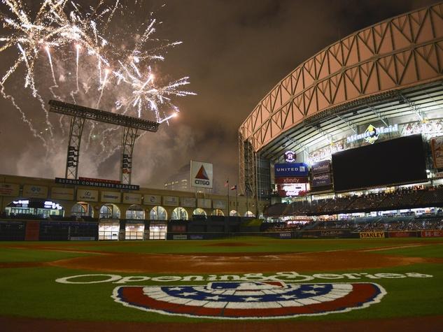 Astros fireworks