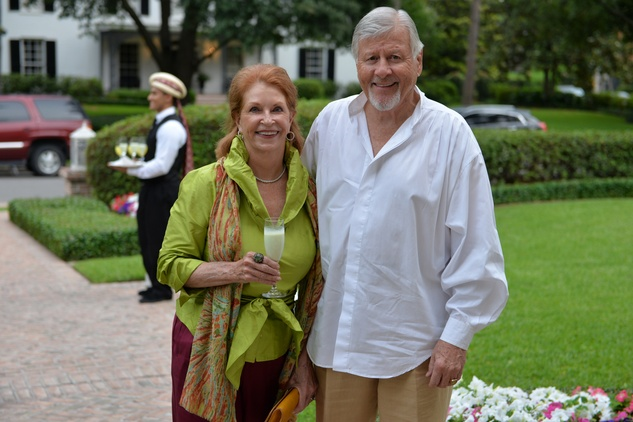 News, Shelby, Recipe for Success Indian dinner, May 2015, Dick and Carol Hunton