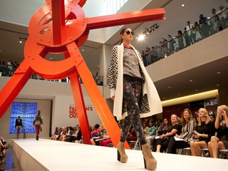 Fashion show at NorthPark Center