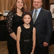 53 Morgan LaRue with parents Ashley and Jeremy LaRue at Catwalk for a Cure November 2013