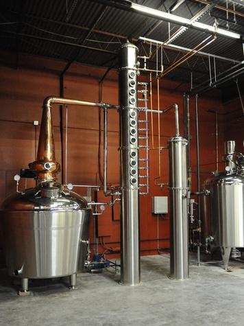 2 Yellow Rose Distilling September 2014 equipment