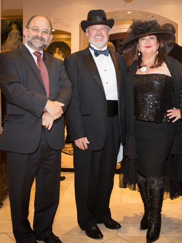 7 Jeff Abrams, from left, with Dr. Bill Reading and Teresa Reading THIS at the Houston Galveston Institute dinner November 2014