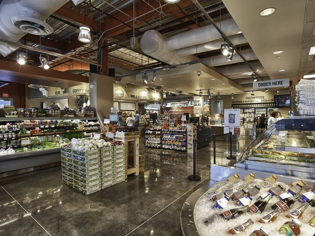 Hubbell & Hudson Kitchen interior grocery store