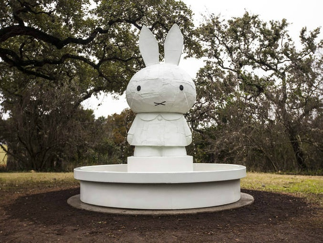 Miffy Foundtain_2008_Boombox Retrospective 1999–2015_Tom Sachs_The Contemporary Austin_2015