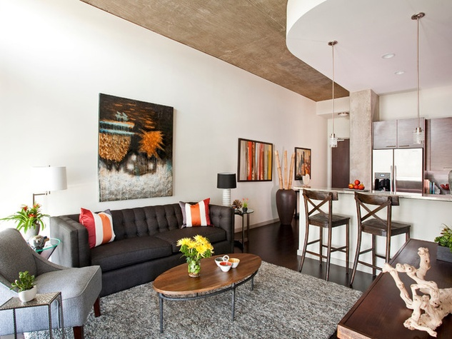 Dallas Uptown Apartment Houzz Transformed Interior Designer