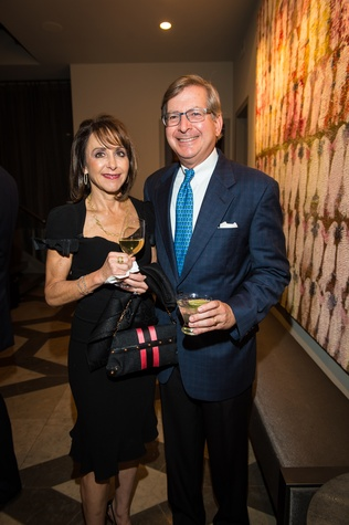 9 Lauren and Jordan Mintz at the Houston Ballet kick-of party October 2014