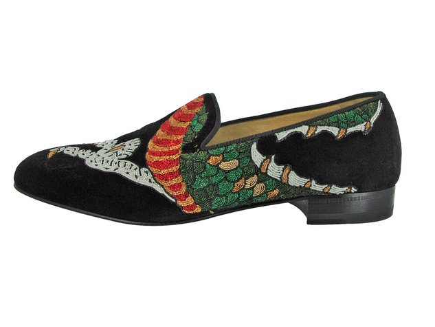 Christian Louboutin limited-edition men's loafer