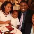 News, Shelby, Morehouse College Father's Day event, June 2015, Maroon Tiger Father of the Year-James Robertson Jr.