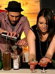 Drink of Austin_Garage cocktail bar_Indian Paintbrush_Chauncy James closeup_2015