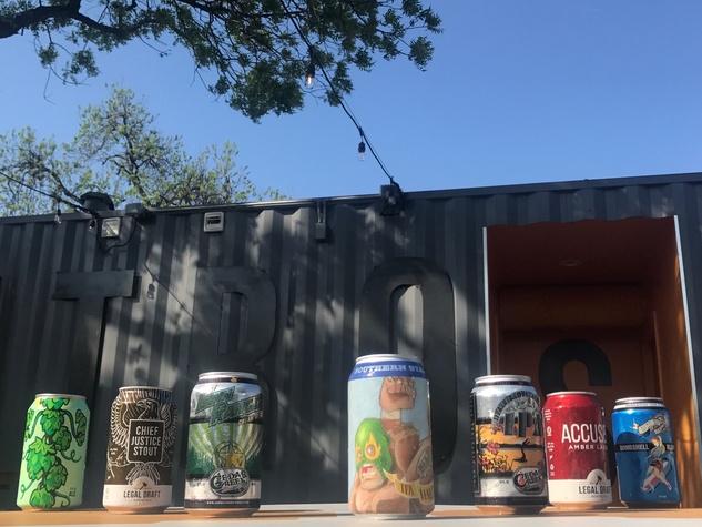 Retrospect Coffee Bar beer selection
