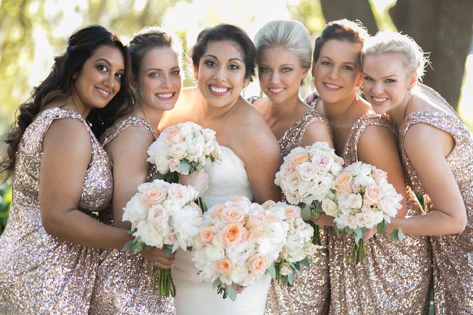 wedding Guerra Stump January 2015 Laura Sluzas, Bridget Hillsman, Lindsay Weiderhold, Jennifer Shahry, Crystal Martinez