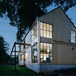Austin home house Houzz DIY modern Texas farmhouse Garden St exterior