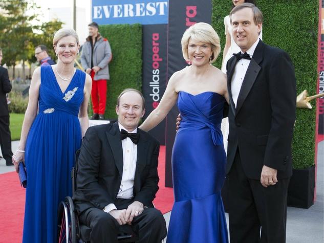 Don and Ellen Winspear, Keithr Cerny, Jennifer Cerny, Dallas Opera First Night