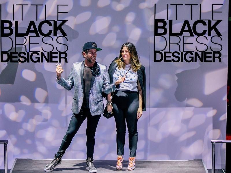 Jeff Shell, Ally Shell at Little Black Dress Designer 2017