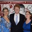 Barbra Radnofsky, Joe Kennedy III and Michelle P. Mullin at Texas Civil Rights Project fundraiser