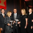 Lee Cullum, Roger Nanney, Holly Mayer, Lucilo Pena, Carol and Don Glendenning, taca silver cup awards